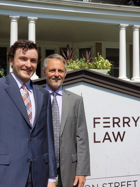 Kevin Ferry Lawyer and Sam Martin